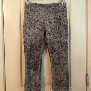 Lululemon Gray Legging Crop High Waist Speckled